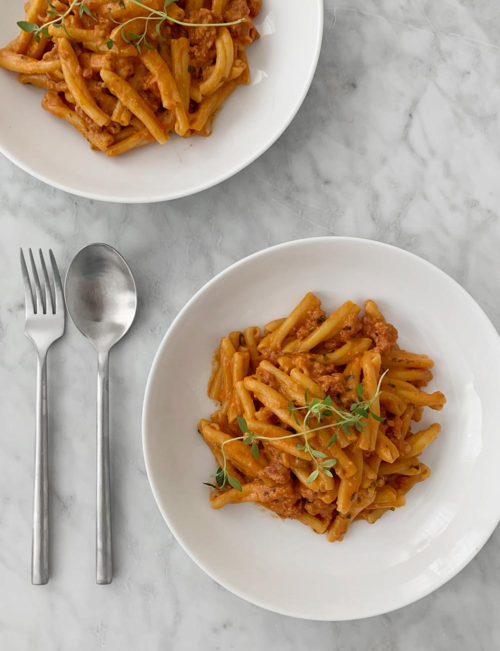 färsk pasta recept per morberg
